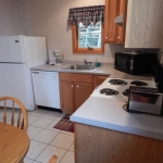 1,400 sq ft, 3 bedroom townhouse - Kitchen and stove
