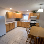 1,800 Sq. ft., 4 bedroom townhouse - Kitchen and dining table