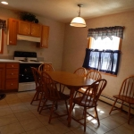 1,800 Sq. ft., 4 bedroom townhouse - Kitchen and dining area