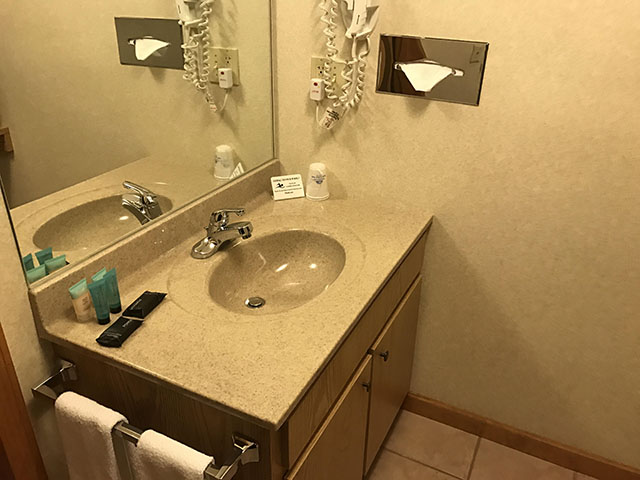 Deluxe Queen Suite - Vanity area