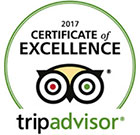 America's Best Value Inn & Suites Lake George 2017 Certificate of Excellence from TripAdvisor