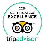 2020 TripAdvisor Certificate of Excellence